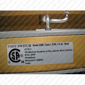 Foot Switch Assembly