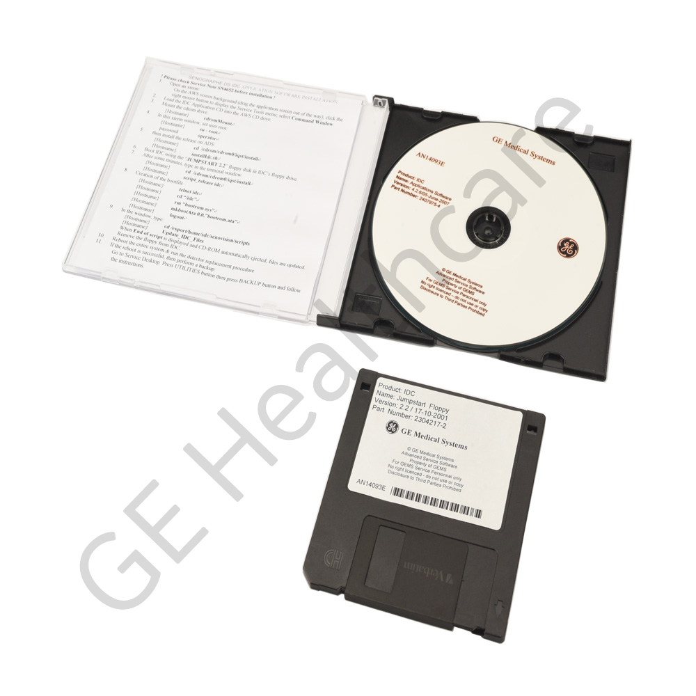 Mammography-IDC 4.2.6 DS Software Backup Kit