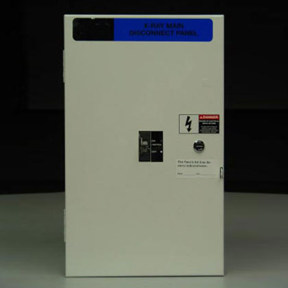25 KAIC X-Ray Main Disconnect Panel 80 Amp, 480 V/208 V