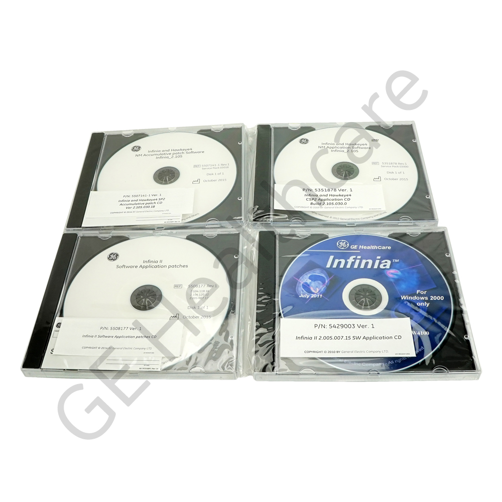 Infinia II MEA SW patches CD for spare part