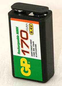 Battery 7 Cell, Rechargeable, Nickel Metal Hydride 8.4V